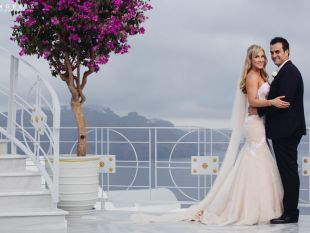 Skye and Michael  - Santorini Wedding in Greece