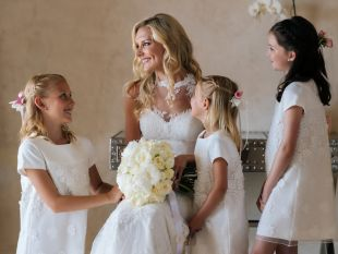 Louise and Ben Santorini Wedding in Greece