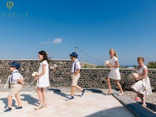 Louise and Ben Santorini Wedding