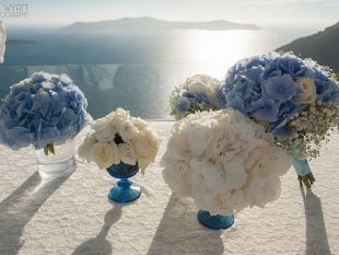 Kivotos of Aegean Wedding Designers in Santorini