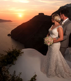 Exclusive Wedding Designers in Santorini